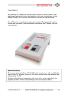 página del Beyertone CR-100 USB 2