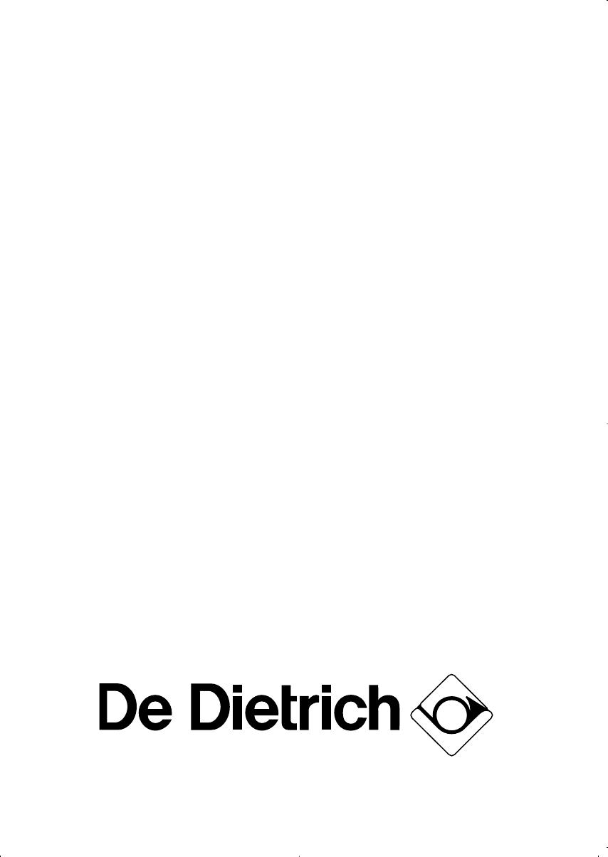 De Dietrich Dod 348 Manual