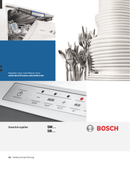 Bosch SMV65N40 pagina 1