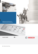 Bosch SPI86S05 pagina 1