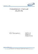 Volkswagen MFD 2 Seite 1