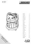 Kärcher SE 4001 страница 1