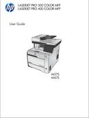 HP LaserJet Pro 400 Color MFP M475DN page 1