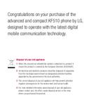 LG KF510 sivu 2