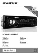 Página 1 do SilverCrest SAR 28 A1 IAN 85465