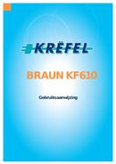 Braun Sommelier KF 610  pagina 1