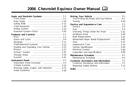 Pagina 1 del Chevrolet Equinox (2006)