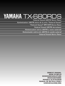 Yamaha TX-680RDS sivu 1