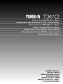 Yamaha TX-10 sivu 1