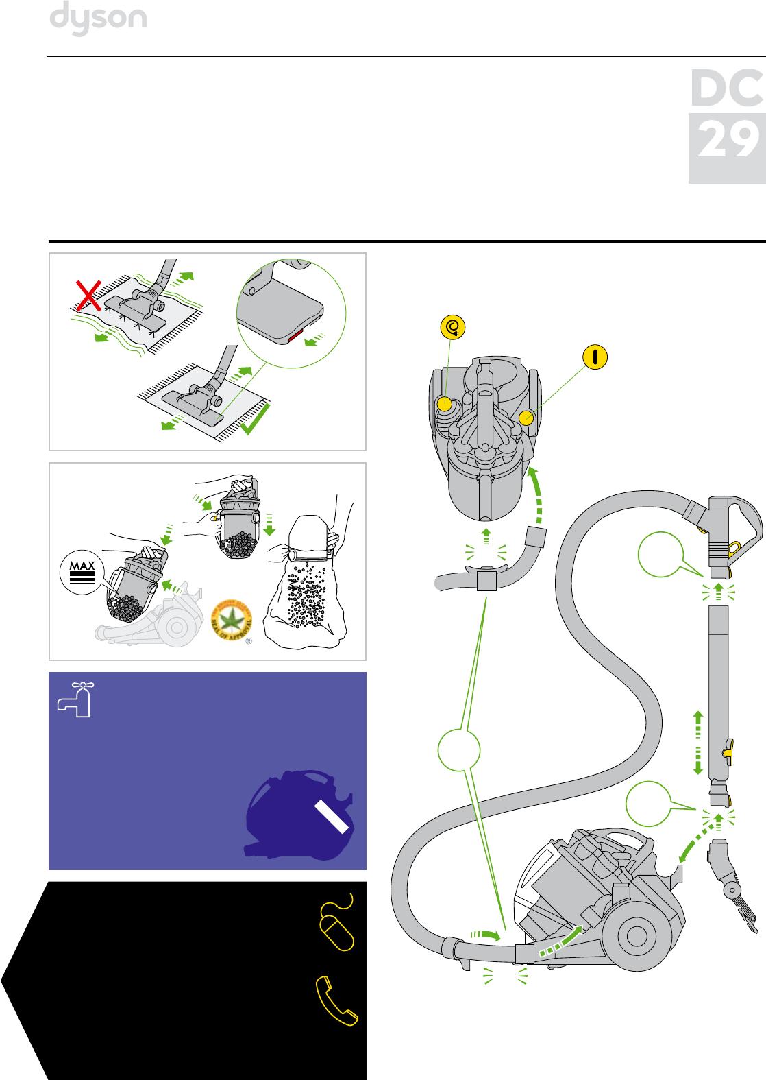 Инструкция по эксплуатации к пылесосу дайсон обогреватель dyson am05 белый