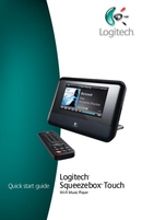 Logitech Squeezebox Touch sivu 1