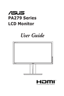 Asus PA279 side 1