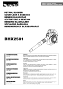 Makita BHX2501X side 1
