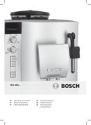 Bosch VeroCafe TES50328RW pagina 1