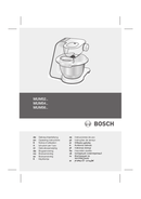 Bosch MUM56340 page 1