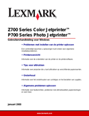 Lexmark Z700 side 1