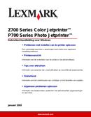 Lexmark Z705 side 1