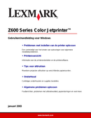 Lexmark Z615 side 1