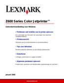 Lexmark Z601 side 1