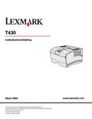 Lexmark X8300 side 1