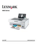 Lexmark X4800 side 1