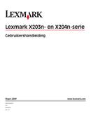Lexmark X203n side 1