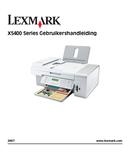 Lexmark X5450 side 1