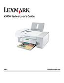 Lexmark X5410 side 1