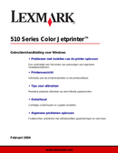 Lexmark P3100 side 1