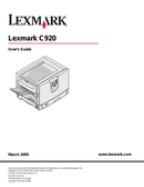 Lexmark C920 side 1