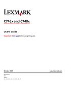 Lexmark C746 side 1