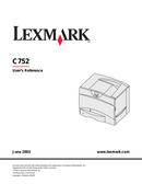 Lexmark C752 side 1