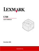 Lexmark C720 side 1