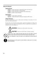 Página 4 do Casio UP-400