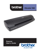 Brother DS-700D page 1