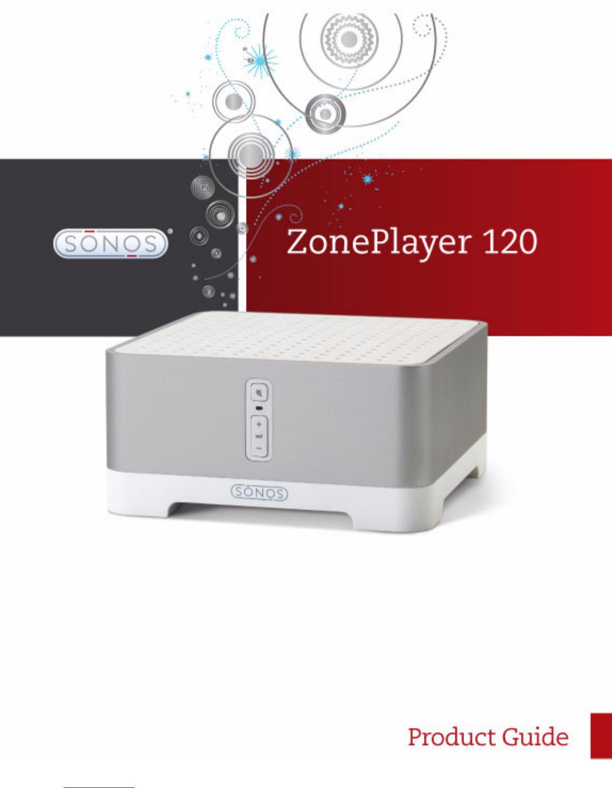 sonos zoneplayer 120 manual rh manualscat com Sonos CD Player Sonos Connect Back