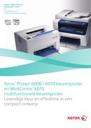 Xerox Phaser 6000B страница 1