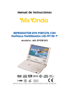 Mx Onda MXDVD8343 side 1