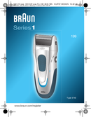 Braun 199 Series 1 pagina 1