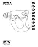Página 1 do Ikea FIXA