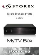 Storex MyTV Box manual