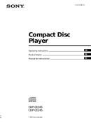 Sony CDP-CE245 side 1