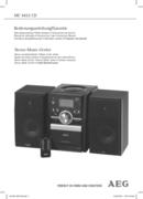 AEG MC 4432 CD page 1