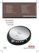 AEG CDP 4226 page 1