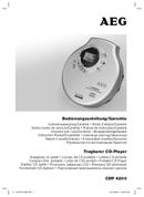 AEG CDP 4200 page 1