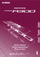 Yamaha PSR-A300 sivu 1