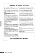 Yamaha PSR-A300 sivu 2