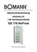 Bomann GS 176 side 1