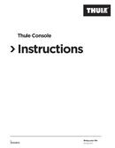 Thule Console 1 sivu 1