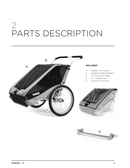 Thule Chariot Cheetah 2 side 5